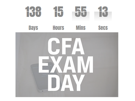 What Does 138 Days until June 23 Mean for CFA© Exam Candidates?