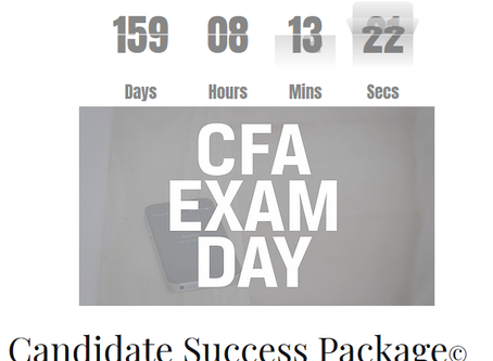 Focus Study Time for CFA Prep