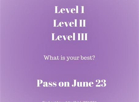 Candidates: Uncover What You Do Best to Pass June 23 Exam