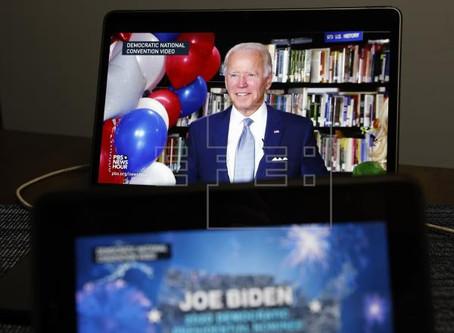 Joe Biden, confirmado por demócratas como candidato a la PresidenciaSusana SamhanWashington, 18 a