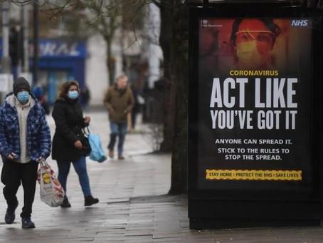 La variante británica se asocia con un 61 % más de riesgo de muerte