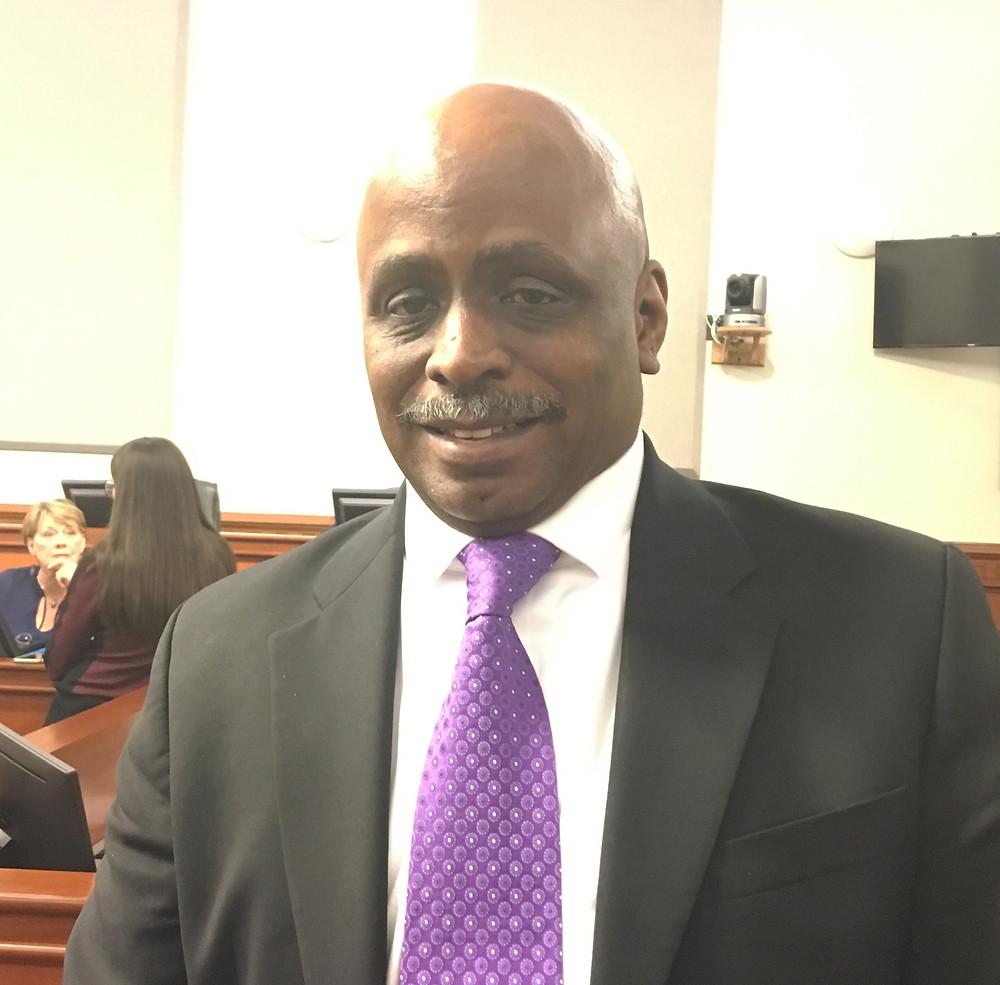 David James, Presidente del Concejo Metropolitano.