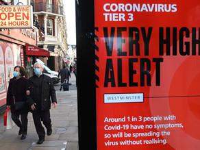 Johnson dice que variante británica del coronavirus parece ser más mortífera
