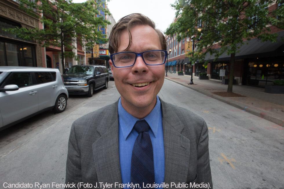 -Candidato Ryan Fenwick (Foto J. Tyler Franklin-Louisville-Public Media