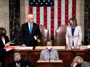 El Congreso de EE.UU. valida el triunfo de Biden y Trump acepta la transiciónLucía LealWashington