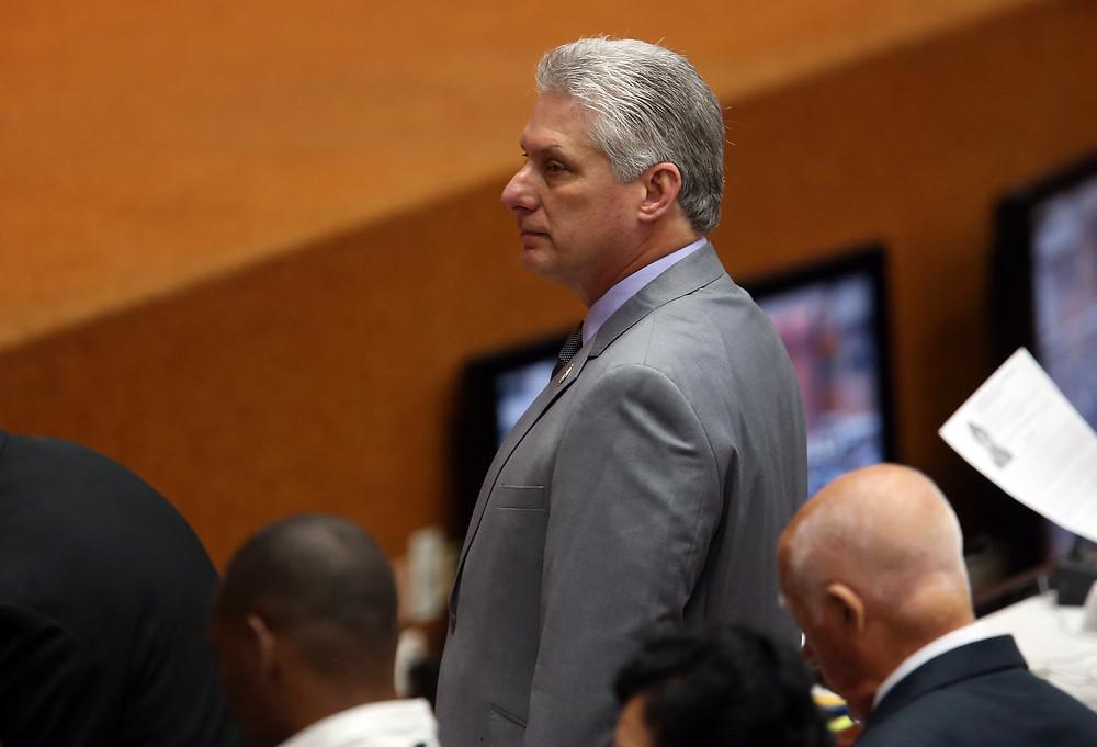 Presidente de Cuba, Miguel Díaz Canel - EFE archivo.