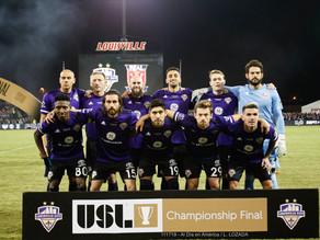 LouCity cede el título nacional de la USL ante el Real Monarchs 3 goles a 1