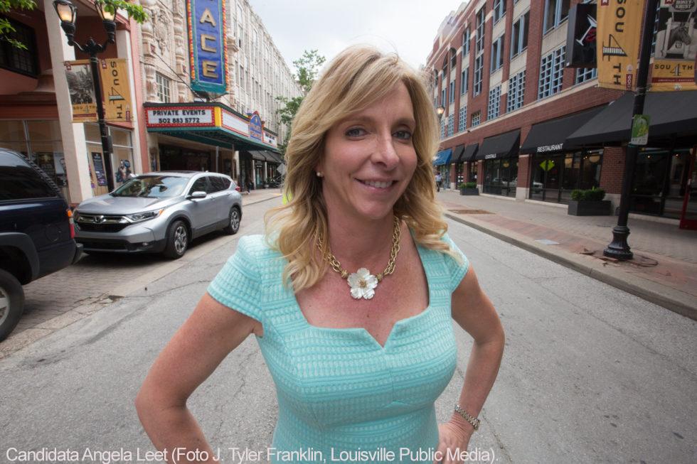 -Candidata Angela-Leet (Foto J. Tyler Franklin-Louisville Public Media