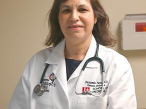 Doctora María Fernanda Nota, velando por la salud de la comunidad latina