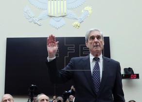"""Mueller reitera ante el Congreso que """"no"""" exoneró a Trump"""