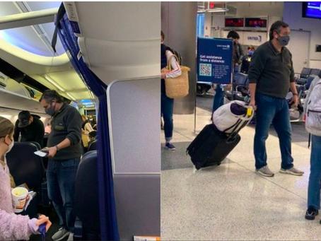 Ted Cruz viajó a México en plena tormenta y las críticas le obligan a volver