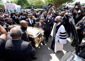 """Estados Unidos despide a George Floyd en un funeral por """"el cambio"""""""