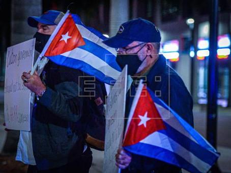 Migrantes cubanos detenidos en Luisiana y Alabama realizan huelgas de hambre