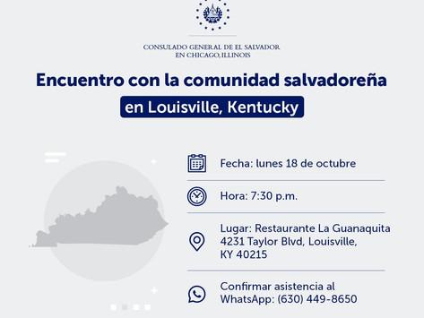 Consulado salvadoreño visitará Louisville