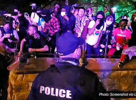 Iglesia que ofrecía refugio es rodeada por LMPD para arrestar manifestantes
