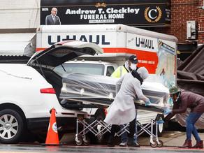 La covid-19 causó un récord de 90.000 muertes en EE.UU. en enero