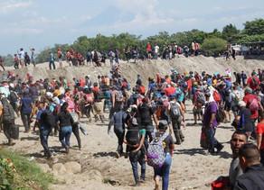 México avisa que arrestará a migrantes que cruzaron la frontera por el río