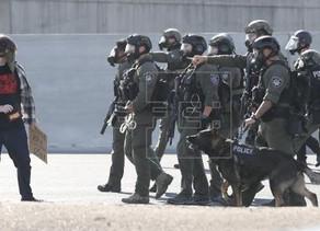 La policía usa balas de goma que pueden matar, cegar o mutilar