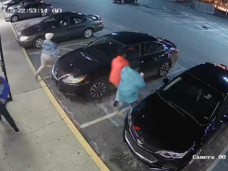 Autoridades buscan a cuatro personas por robo en restaurante