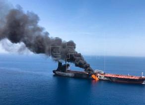 Atacados dos cargueros en el estrecho de Ormuz, uno de ellos de armador nipón