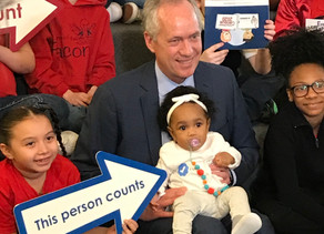 Alcalde Fischer anuncia la Semana del Censo