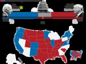 Colegio Electoral: Biden 238, Trump 213 (270 para ganar)