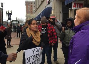 Protestan apertura de nuevo tribunal de inmigración en Louisville