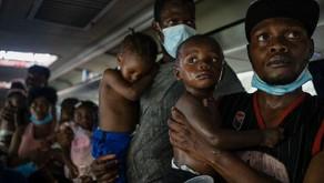 La crisis de migrantes haitianos pone al límite albergues de Ciudad de México
