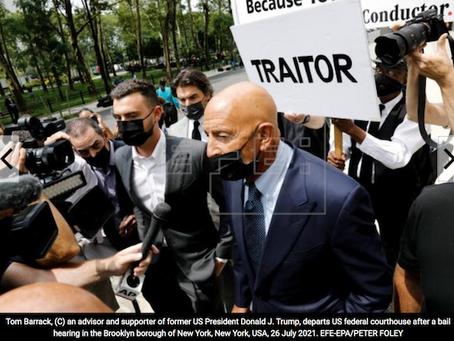 Exasesor de Trump se declara inocente de actuar como agente de EAU
