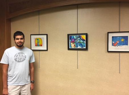 Sebastián Duvergé expone los colores de su mundo