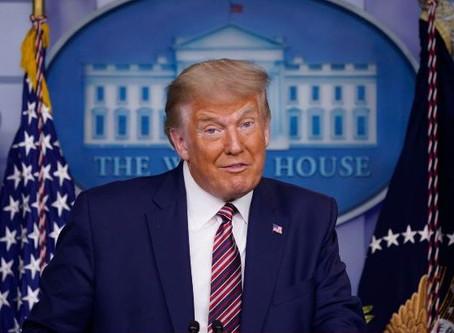 Trump endeudado y pagó solo $750 en impuestos en el 2016 y 2017 dice nuevo reporte