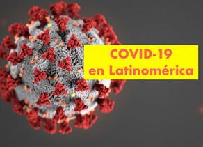 El COVID 19 en Latinoamérica        •México Cierra centros de entretenimiento y eventos masivos •Gua