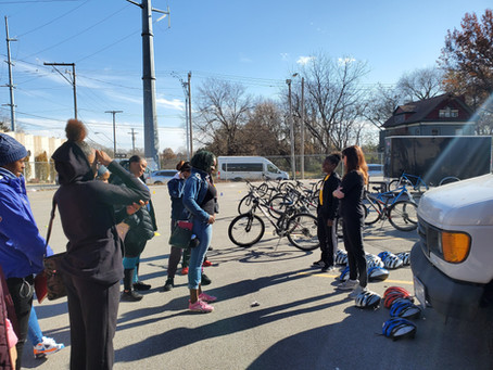 KC Bike Walk and Ruby Jean's Juicery