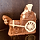 Thumbnail: Schokoladenkutsche mit Weihnachtsmann