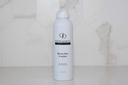 Dynamic Mineral Spray Sunscreen