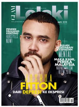 Joshua Fitton speaks to Glam Lelaki about depression