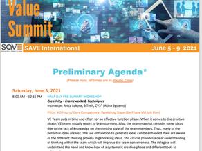 [SAVE Int] 2021 Value Summit (6월 5일~9일)