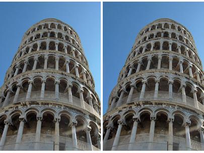 [위키피디어] 피사의 사탑 착시현상