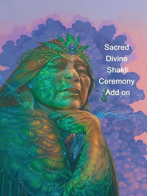 Sacred Ceremony Add On Feb 28-29