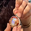 Thumbnail: 26- Passion: Rainbow Moonstone, Brazilian Orange Agate, Citrine, Jasper $88