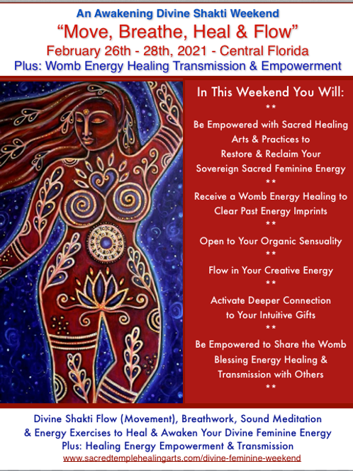 Move, Breathe, Heal & Flow - Feb. 26 - 28th (Evi Group)
