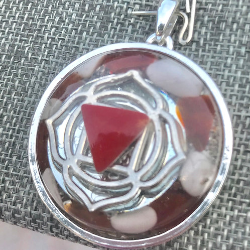 """2- Root Chakra """"Divine Earthly Presence' Silver/Silver Divine Earthly Presence"""