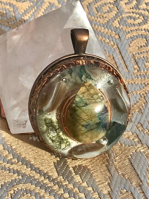 18-Madre Tierra: Labradorite, Copper $88