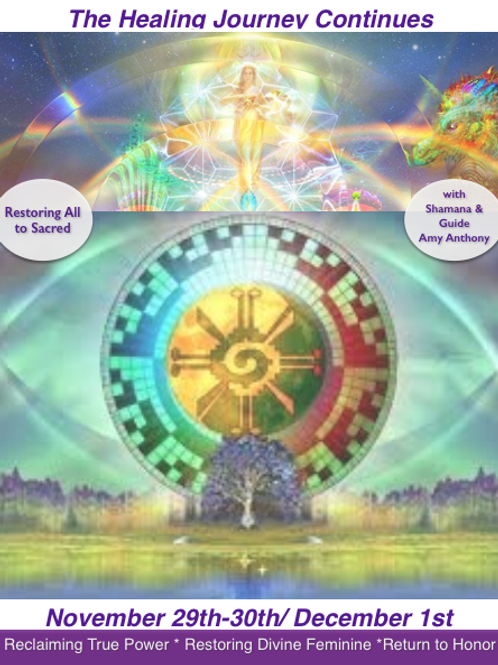 Restoring All to Sacred: Nov 29th - Nov 30th