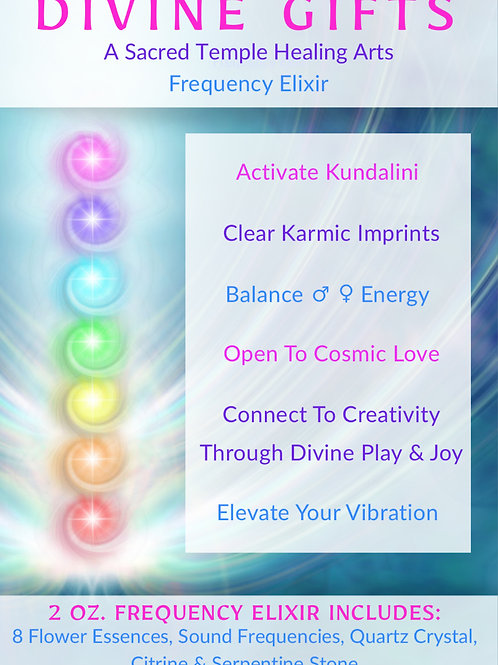 Divine Gifts: Frequency Elixir