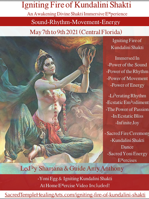 Igniting Fire of Kundalini Shakti