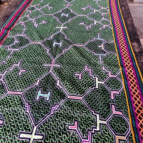 Amazonian Hand Sewn Sacred Textile