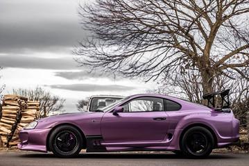 Purple MK4 Supra 2JZ GTE