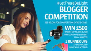 Let There Be Light Blogger Photography Competition | Win £500!
