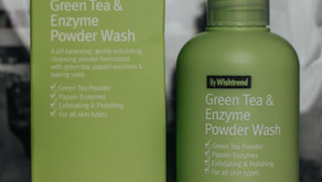 Green Tea & Enzyme Powder Wash By Wishtrend | Korean Beauty